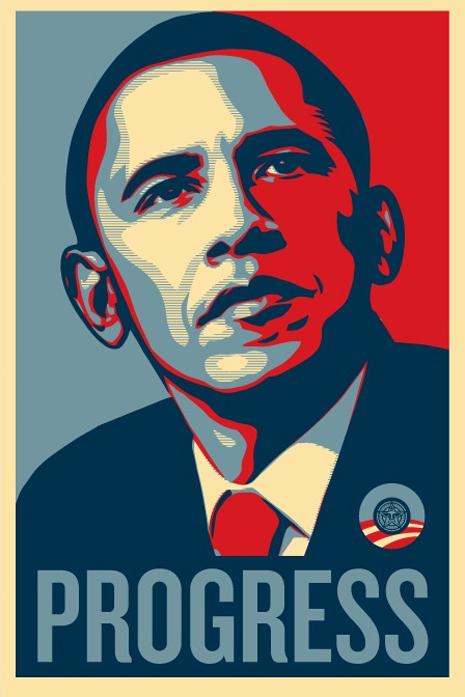 Obama wins 2008 Election